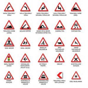 Trafik İşaretleri ve İşaret Levhaları 1
