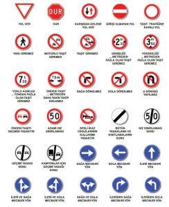 Trafik İşaretleri ve İşaret Levhaları 2