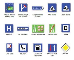 Trafik İşaretleri ve İşaret Levhaları 3