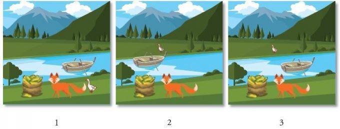 Tilki, Kaz ve Mısır Çuvalı 1