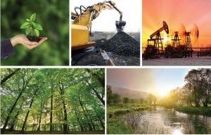 Madenler, petrol kaynakları, ormanlar ve sular; toprak altı ve toprak üstü zenginliklerdir.