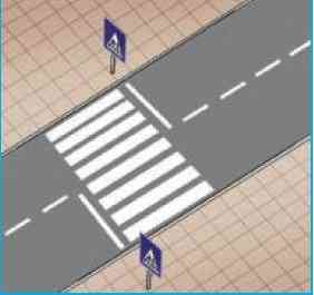 Trafik ile İlgili Kavramlar 7 – yaya gecidi