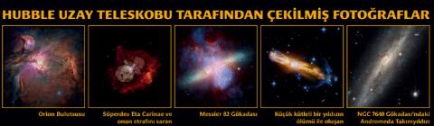 Hubble uzay teleskobunun çektiği fotoğraflar