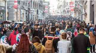 İstanbul nüfus hareketliliğinin en yoğun olduğu kentimizdir.