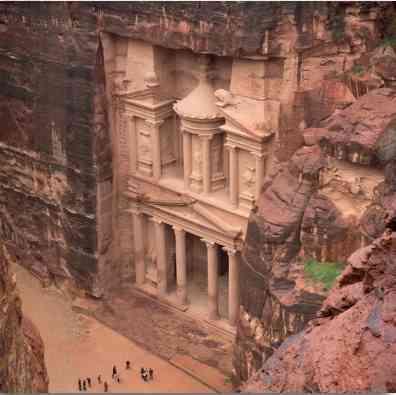 Antik Petra Kenti'nin günümüze ulaşan kalıntıları